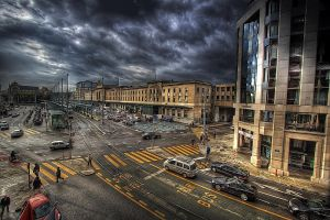 Geneva Main Station by Hamrani