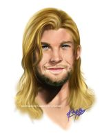 Thor - God of Loverly Hair by riotfaerie