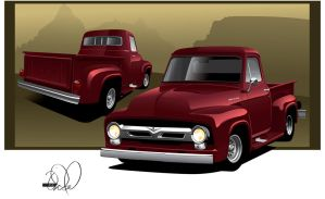 Ford F100 by cityofthesouth
