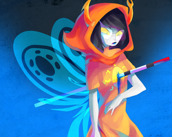 vriska speedpaint by tearzahs