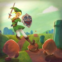 The Legend of Metroid Bros 01 by Andry-Shango