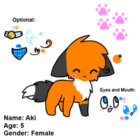 Aki - Referance. by SuperFluffyKitteh