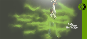 Kof Series : Kyo Green Smudge by GreenMotion