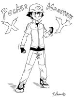 Ash Ketchum XY Outfit by Rohanite