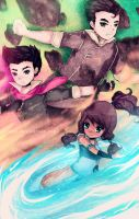 Legend of Korra by Geegeet