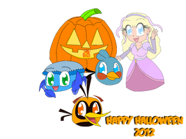 Happy Halloween 2012 by RussellMimeLover2009