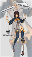 005 M/F Blade and Soul by tsaileehua