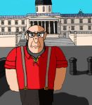 Curmudgeonly Carl in London [Contest] by LucifurMacomb