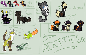 Unsold Adopts by oOMintAdoptablesOo