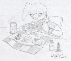 Ayame pizza by NecroCC