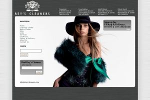 Website Design Rey's Cleaners by cwylie0