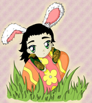 Easter Loki by SairaNeko