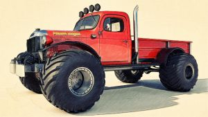 1946 Dodge Power Wagon by SamCurry