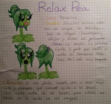Relax Pea by PlantsOfLove097