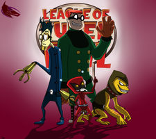 League of Super Evil by DarkDivaLocura