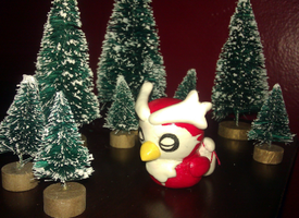 X-mas Delibird by LaPopeArmadillo