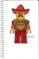 LEGO Taco Tuesday Man by J-Dubi