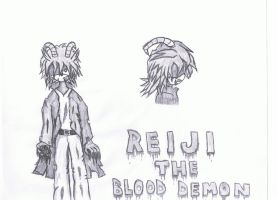 Reiji The Blood Demon by ToTo088