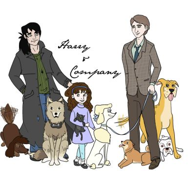 Harry and Company by periru3