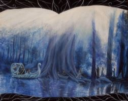 Farewell to Lorien by Gwillieth