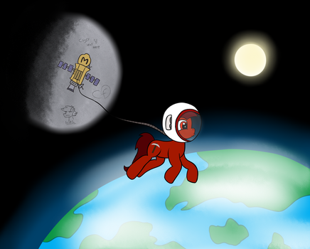 Marsminer in space by Cogs-Fixmore