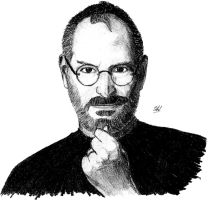 Steve Jobs by LucTorr