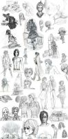 Sketch Dump Summer 2010 by Conspiracy-Z-Cycle