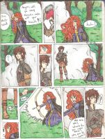 Hiccup and Merida Meet by Different13