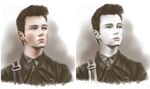 Kurt Hummel portrait by Kiwa007