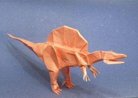 Origami Spinosaurus by Orestigami