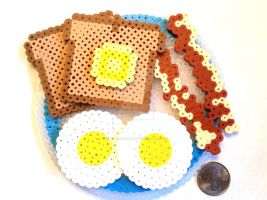 3D Breakfast Plate by right2bearcharms