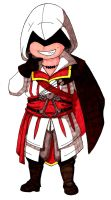 Ezio Chibi Color by Invader-Shi