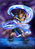 Katara the Waterbending Master by Galistar07water