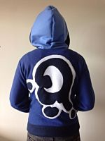 Luna Fleece Cosplay Hoodie - My Little Pony (Back) by Weeaboo-Warehouse