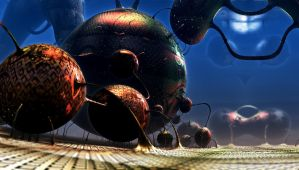 Bacterius by andreyb34rus