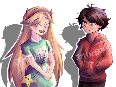 Star And Marco by shinyaro