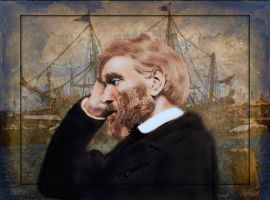 Thomas Carlyle by LindArtz