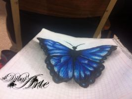 butterfly_3d by AngelMendozaDibujArt