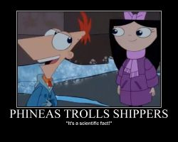 Phineas, you Troll by Tyrannotitan333