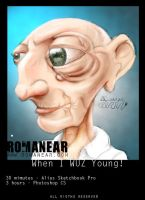 When i WUZ young colour by romanear