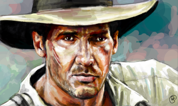 Indiana Jones by DontSpeakSilent
