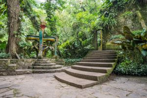 Jungle Castle Stairs by little-spacey