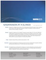 Nagravision One Sheet by juannoguerol