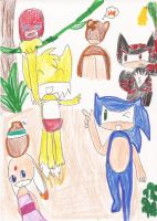 Sonic Jungle Book by Soraply11