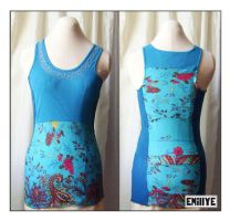Cami XS turquoise by Emillye