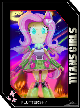 .:TITANS GIRLS Card 4:. by The-Butcher-X
