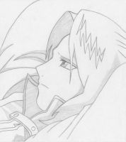 Edward Elric by CrucifySorrow