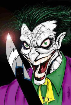 joker coloered by vicmed