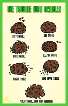 The Trouble with Tribbles by scherwood