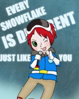 EverySnowflakeIsDifferent by Itsmakazilla